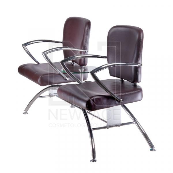 Krzesło do poczekalni LIVIO brązowe BD-6709(1003) #3
