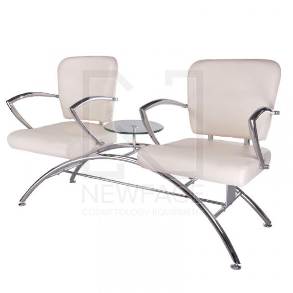 Krzesło do poczekalni LIVIO kremowe BD-6709(1003) #1