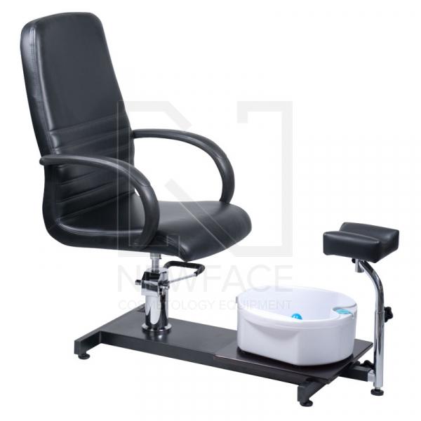Fotel Do Pedicure Z Masażerem Stóp BW-100 Czarny #1