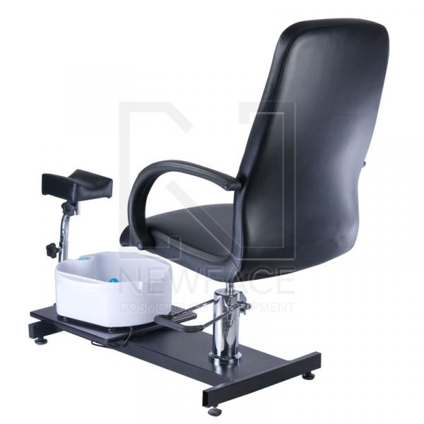 Fotel Do Pedicure Z Masażerem Stóp BW-100 Czarny #2