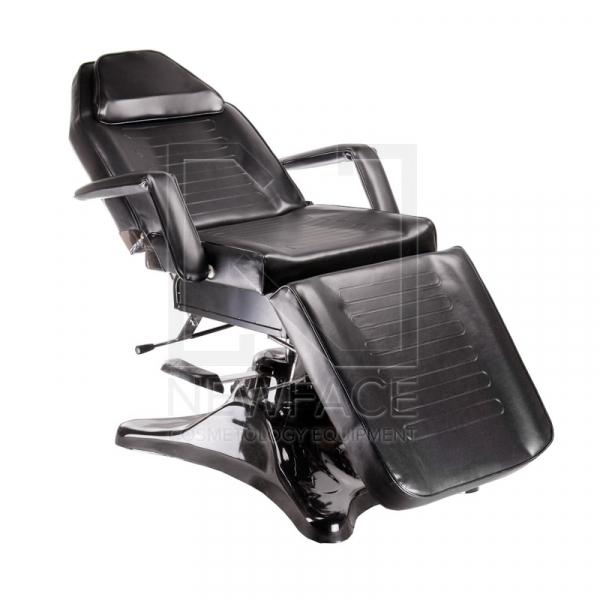 Fotel kosmetyczny hydrauliczny BD-8222 czarny #1