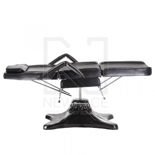 Fotel kosmetyczny hydrauliczny BD-8222 czarny #4