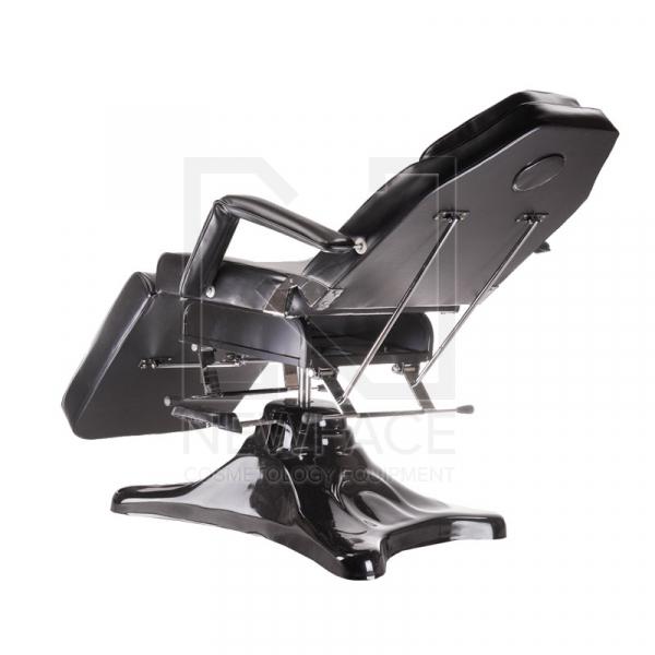 Fotel kosmetyczny hydrauliczny BD-8222 czarny #5
