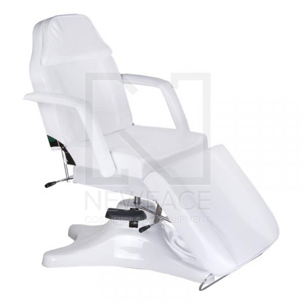 Fotel kosmetyczny hydrauliczny BD-8222 Biały #1