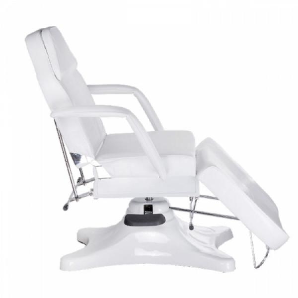 Fotel kosmetyczny hydrauliczny BD-8222 Biały #3