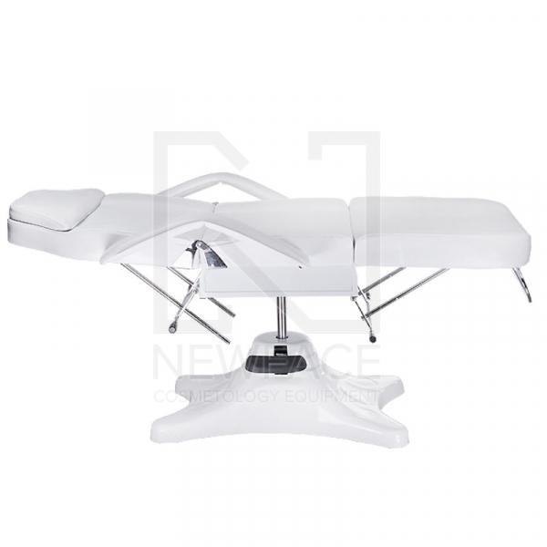 Fotel kosmetyczny hydrauliczny BD-8222 Biały #4