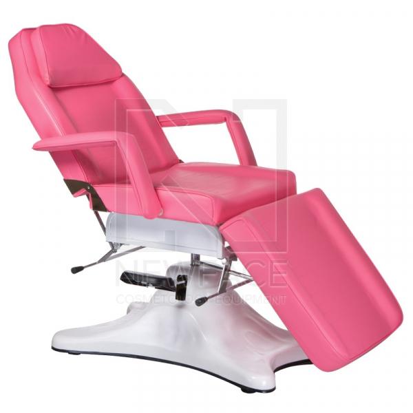Fotel kosmetyczny hydrauliczny BD-8222 różowy #1