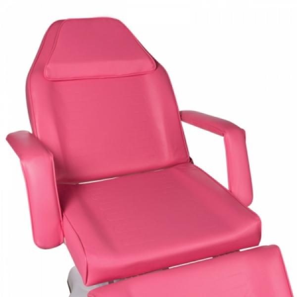 Fotel kosmetyczny hydrauliczny BD-8222 różowy #2