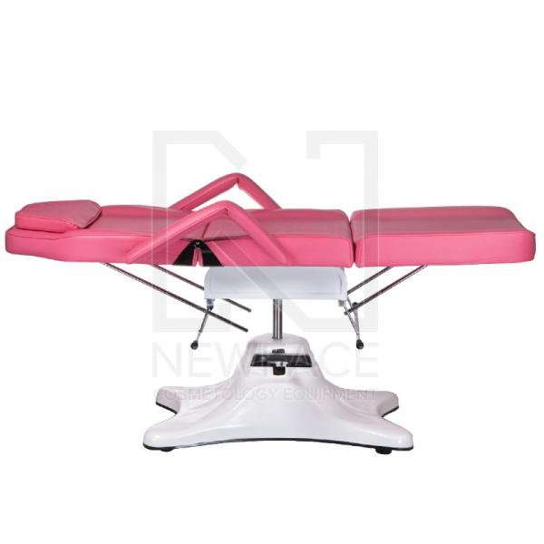 Fotel kosmetyczny hydrauliczny BD-8222 różowy #4