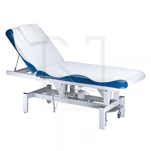 Łóżko do masażu elektryczne BD-8230 biało-niebiesk #1