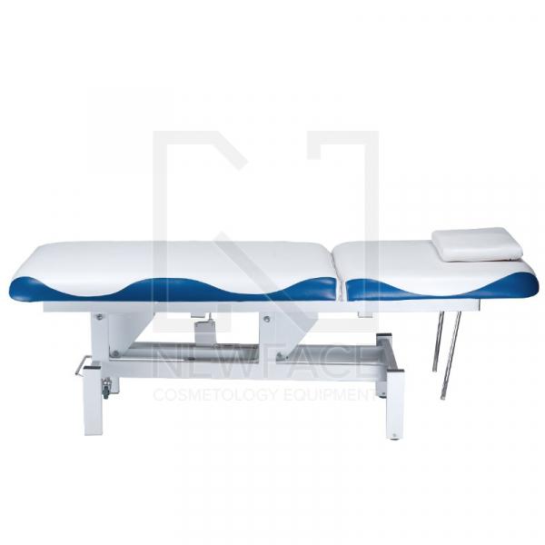 Łóżko do masażu elektryczne BD-8230 biało-niebiesk #4