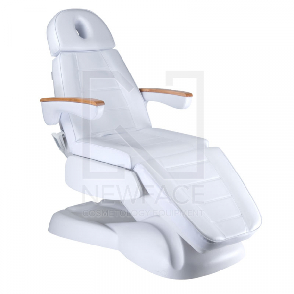 Fotel Kosmetyczny Elektryczny LUX BW-273B Biały #1