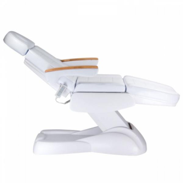 Fotel Kosmetyczny Elektryczny LUX BW-273B Biały #4