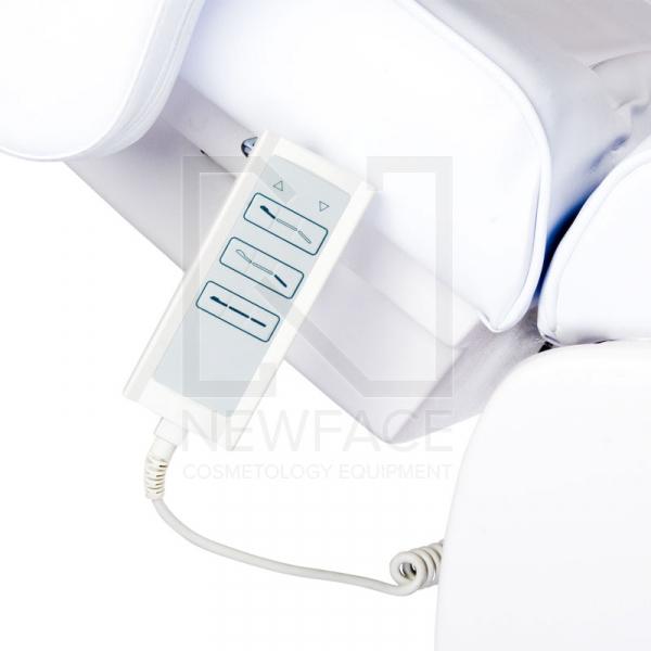 Fotel Kosmetyczny Elektryczny LUX BW-273B Biały #6