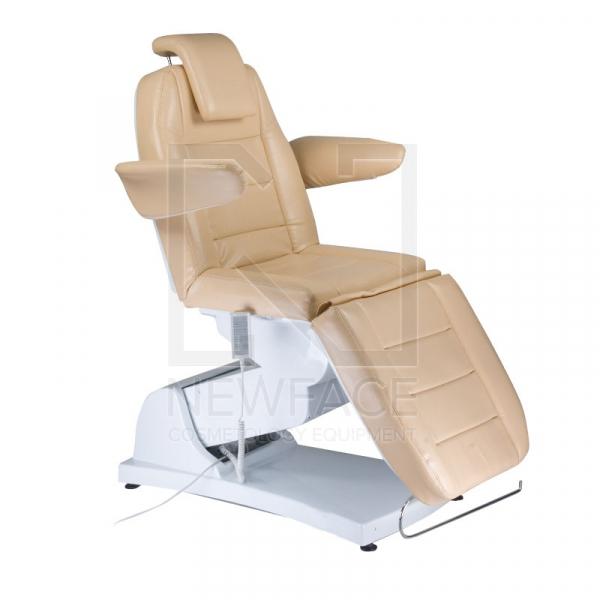 Elektryczny fotel kosmetyczny Bologna BG-228 beż #1