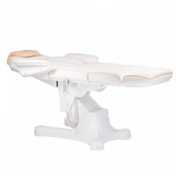 Elektryczny fotel kosmetyczny Napoli BG-207A bialy #2