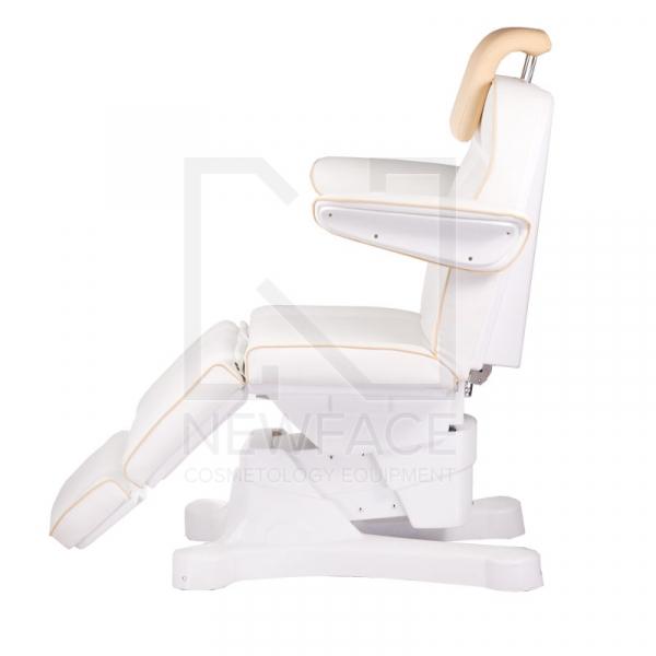Elektryczny fotel kosmetyczny Napoli BG-207A bialy #7