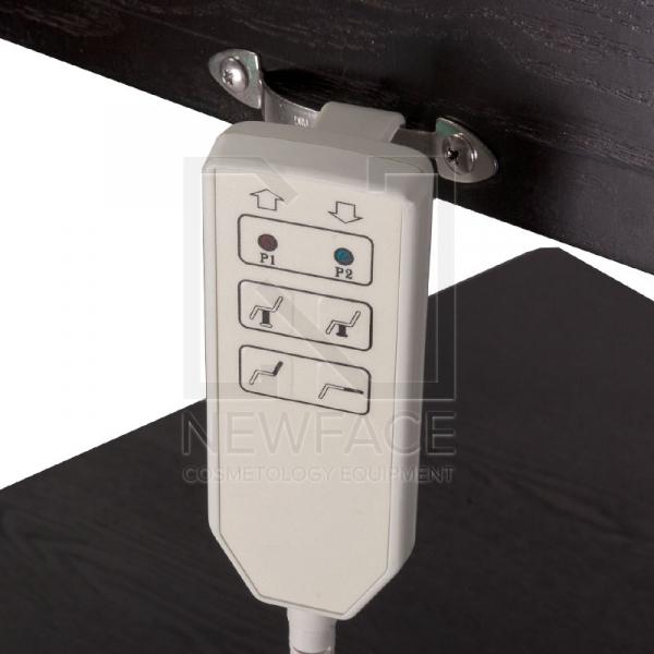 Łóżko do masażu elektryczne BD-8263 wenge #2