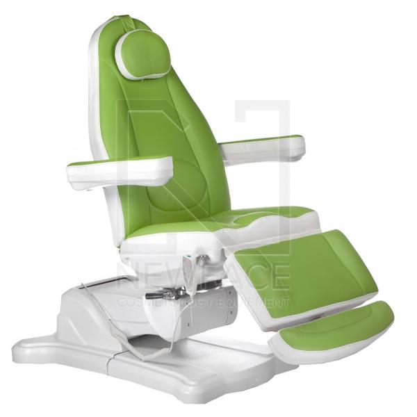 Elektryczny fotel kosmetyczny Mazaro BR-6672 Zielo #1