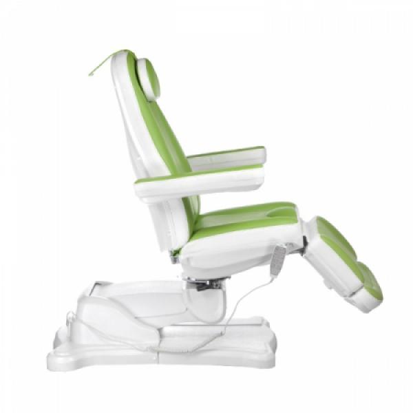 Elektryczny fotel kosmetyczny Mazaro BR-6672 Zielo #13