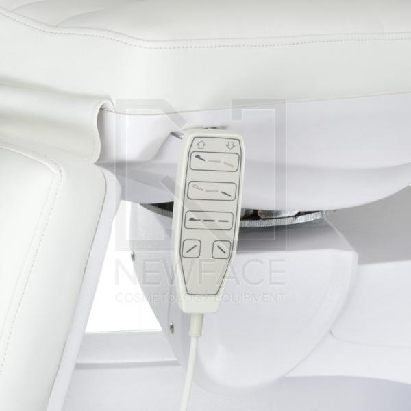 Elektryczny fotel kosmetyczny Mazaro BR-6672 Biały #3