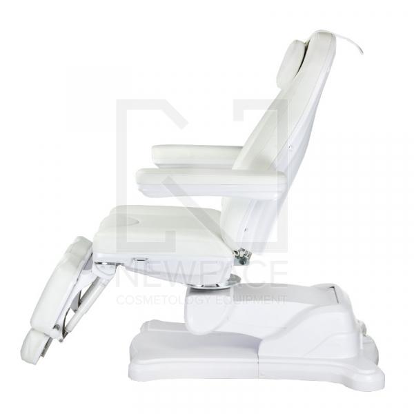 Elektryczny fotel kosmetyczny Mazaro BR-6672C Biał #4