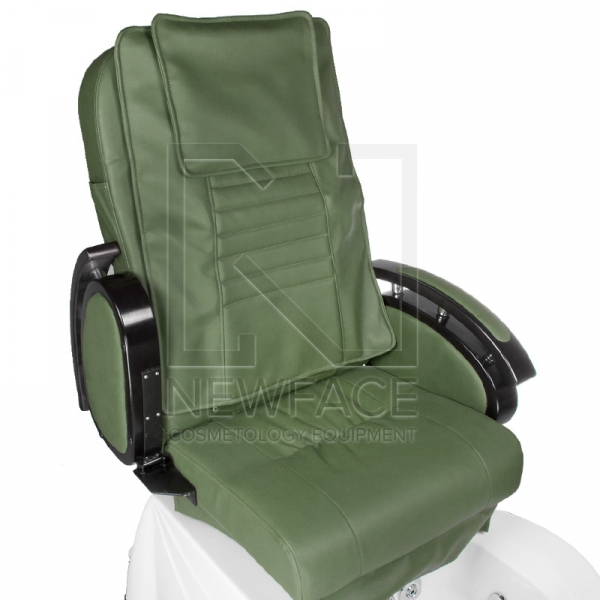 Fotel do pedicure z masażem BR-3820D Zielony #2