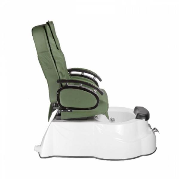 Fotel do pedicure z masażem BR-3820D Zielony #6