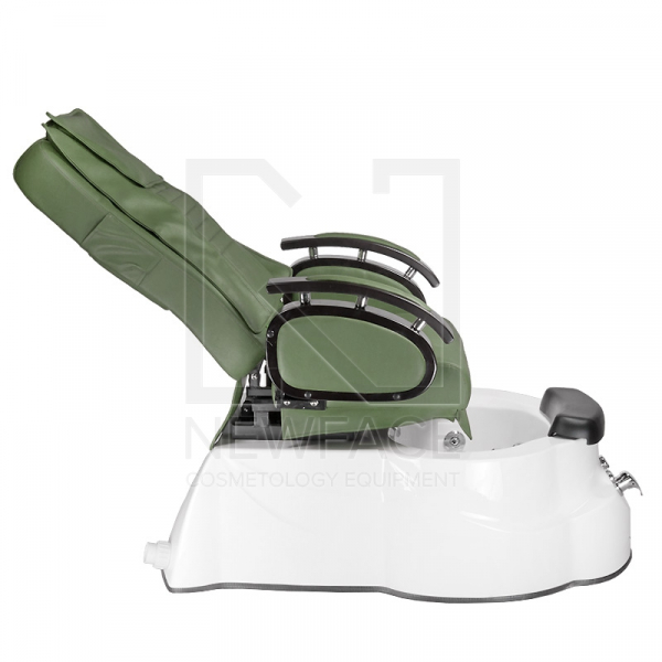 Fotel do pedicure z masażem BR-3820D Zielony #7