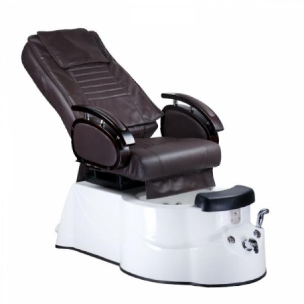 Fotel do pedicure z masażem BR-3820D Brązowy #2