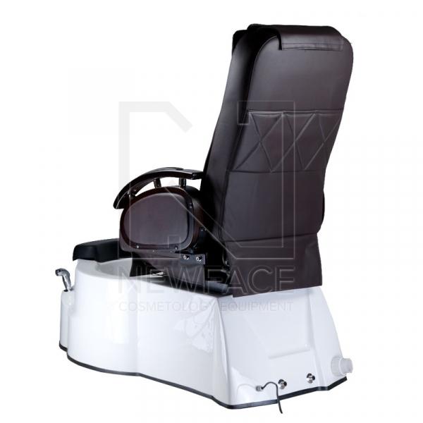 Fotel do pedicure z masażem BR-3820D Brązowy #7