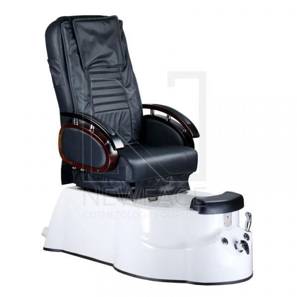 Fotel do pedicure z masażem BR-3820D Czarny #1