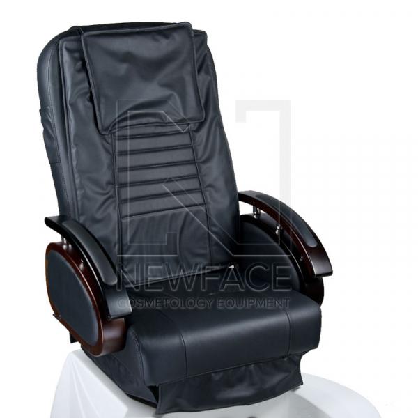 Fotel do pedicure z masażem BR-3820D Czarny #3