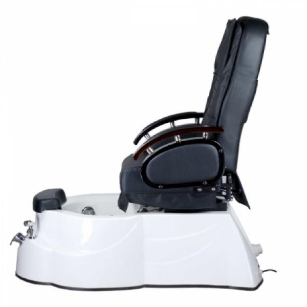 Fotel do pedicure z masażem BR-3820D Czarny #8
