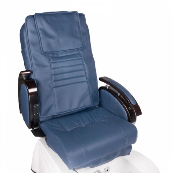 Fotel do pedicure z masażem BR-3820D Niebieski #2