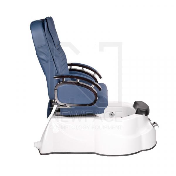 Fotel do pedicure z masażem BR-3820D Niebieski #6