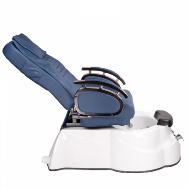 Fotel do pedicure z masażem BR-3820D Niebieski #7