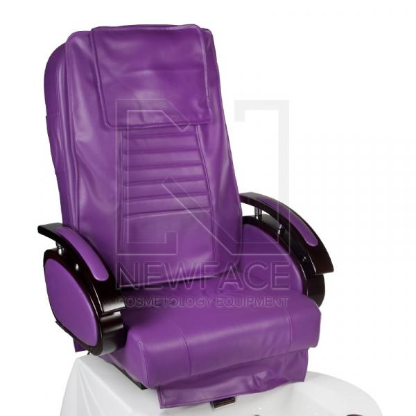 Fotel do pedicure z masażem BR-3820D Fioletowy #2