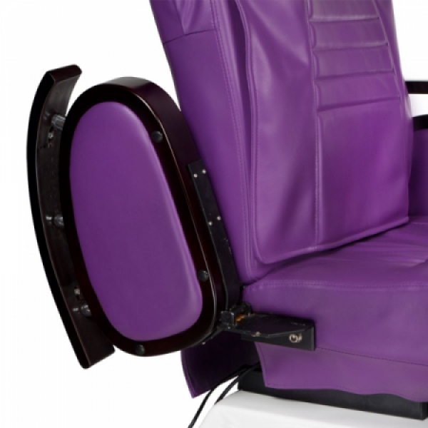 Fotel do pedicure z masażem BR-3820D Fioletowy #3