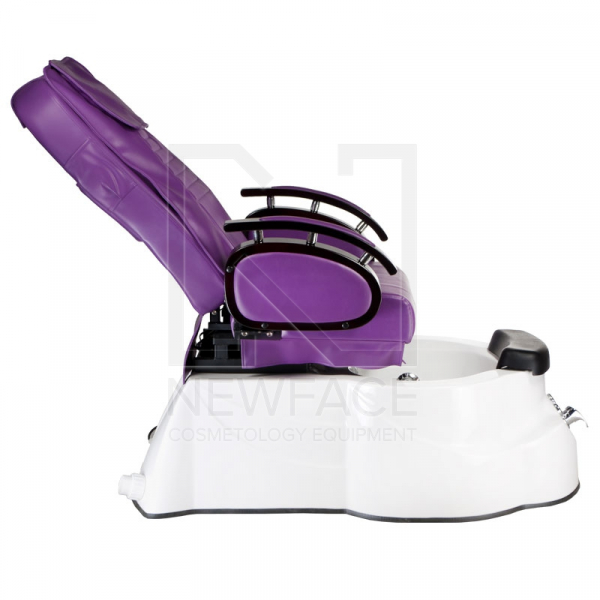 Fotel do pedicure z masażem BR-3820D Fioletowy #9
