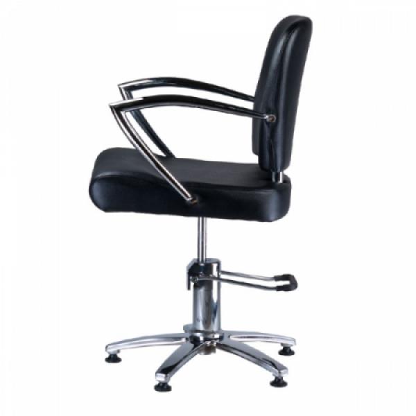 Fotel fryzjerski LIVIO czarny BD-1003 #5