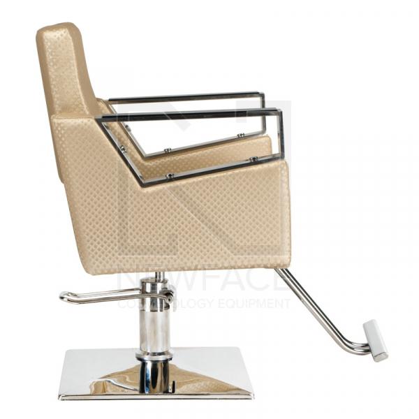 Fotel fryzjerski Roberto kremowy BM-203 #4