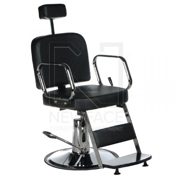 Fotel fryzjerski dla golibrody AXEL BD-2002 Czarny #1