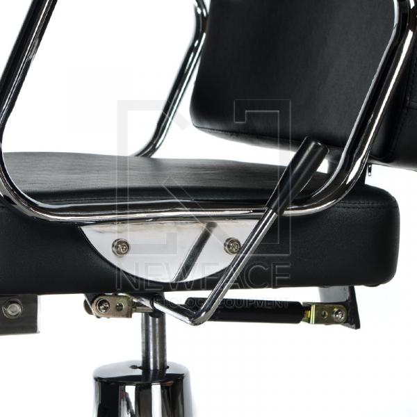 Fotel fryzjerski dla golibrody AXEL BD-2002 Czarny #4