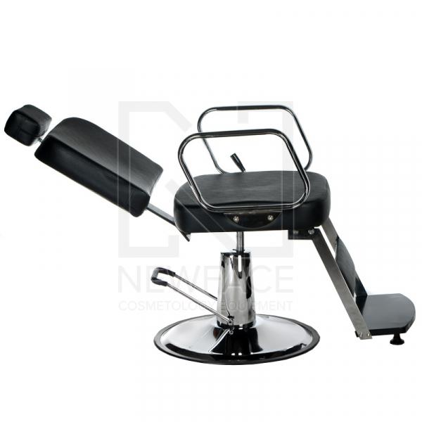 Fotel fryzjerski dla golibrody AXEL BD-2002 Czarny #6