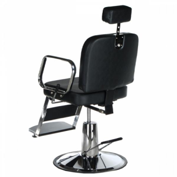 Fotel fryzjerski dla golibrody AXEL BD-2002 Czarny #7