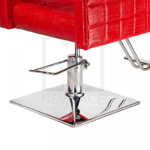 Fotel fryzjerski Bruno czerwony BM-207 #5