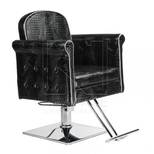 Fotel fryzjerski Carlo czarny BM-256 #1