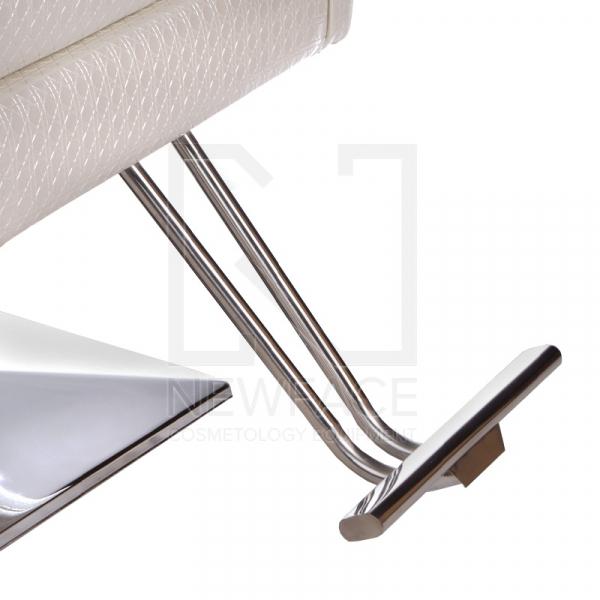 Fotel fryzjerski Carlo perłowy BM-256 #3