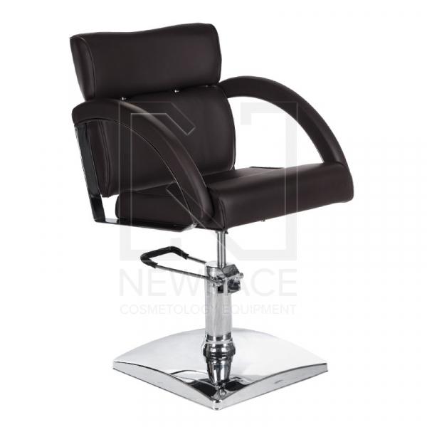 Fotel fryzjerski DINO brązowy BR-3920 #1